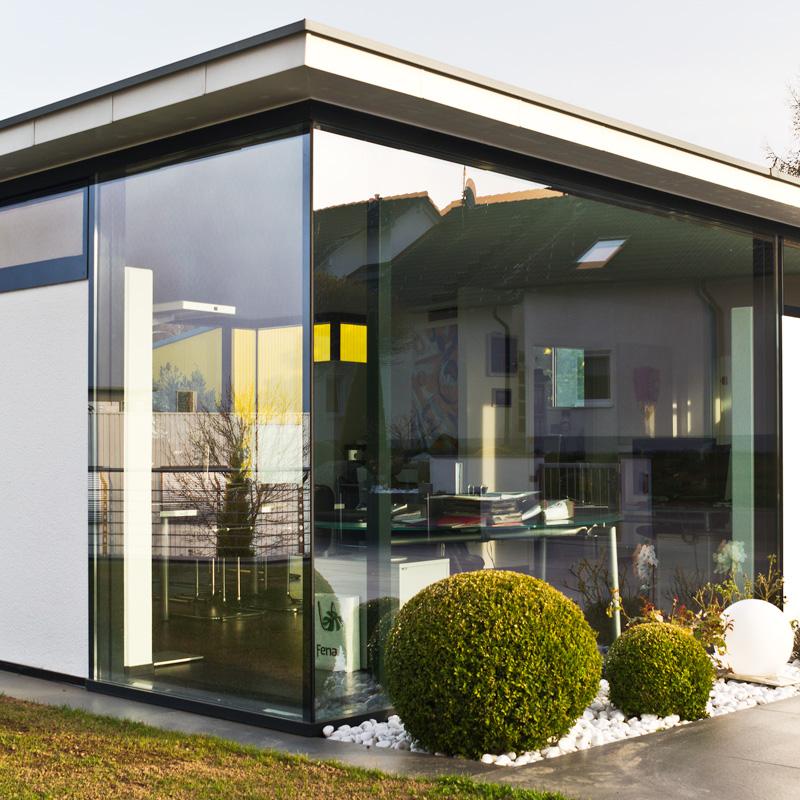 metallbau muench 5558 13 - Glasfassade Privathaus