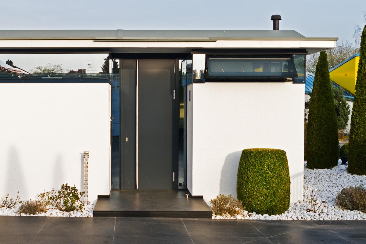 metallbau muench 5560 - Glasfassade Privathaus